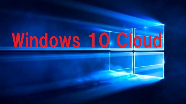 Wiindows10Cloud